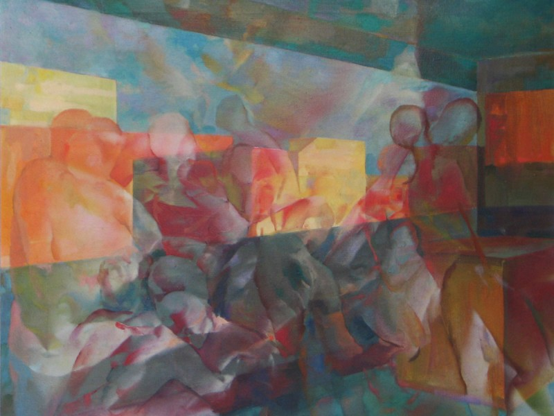 Nello studio - Franco Vasconi