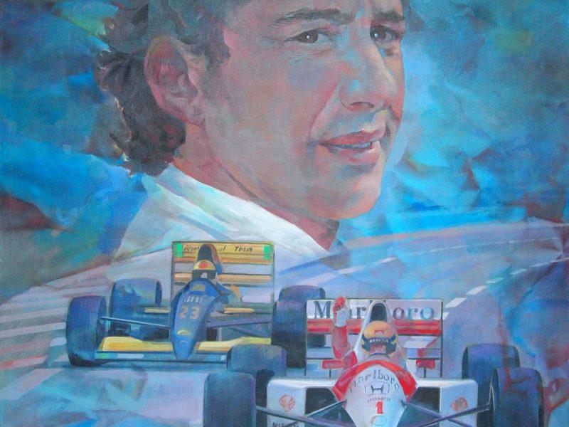 Senna campione del mondo - Franco Vasconi