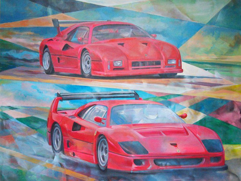 """GTO Evoluzione– F40 """"Le Mans"""